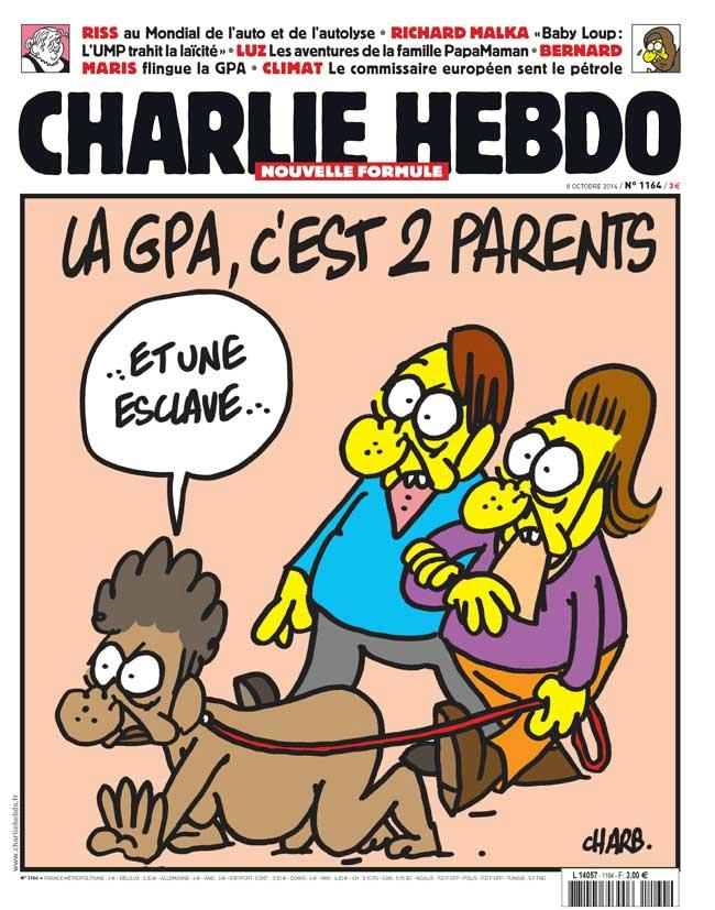 Charlie Hebdo - n°1164 - 8 octobre 2014