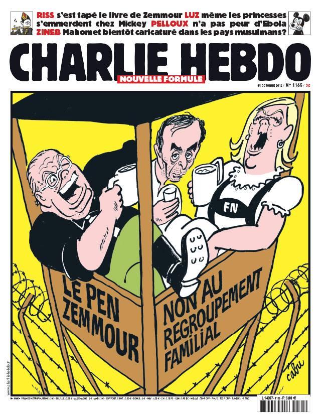 Charlie Hebdo - n°1165 - 15 octobre 2014