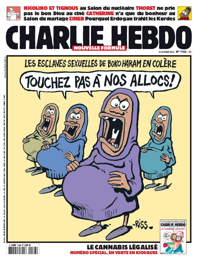 Charlie Hebdo - n°1166 - 22 octobre 2014