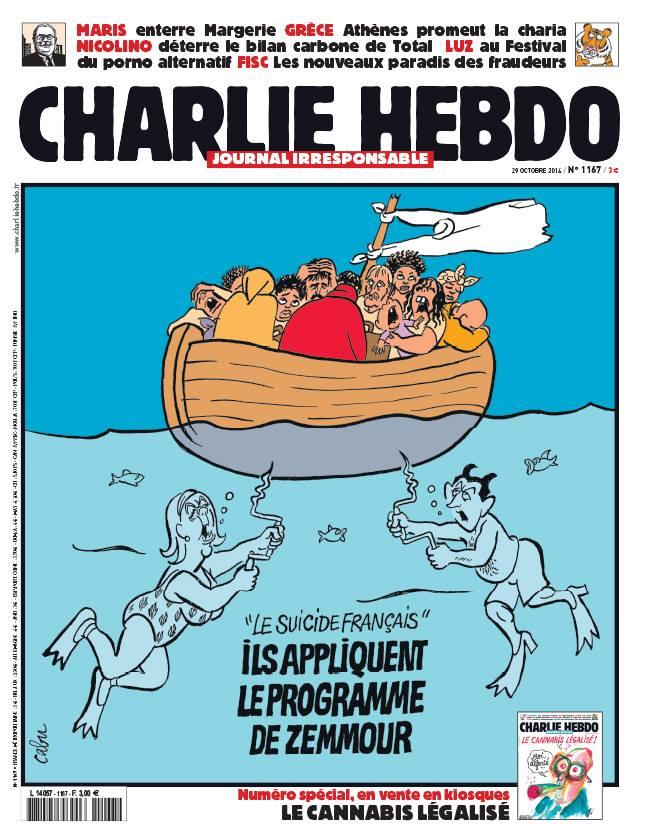 Charlie Hebdo - n°1167 - 29 octobre 2014