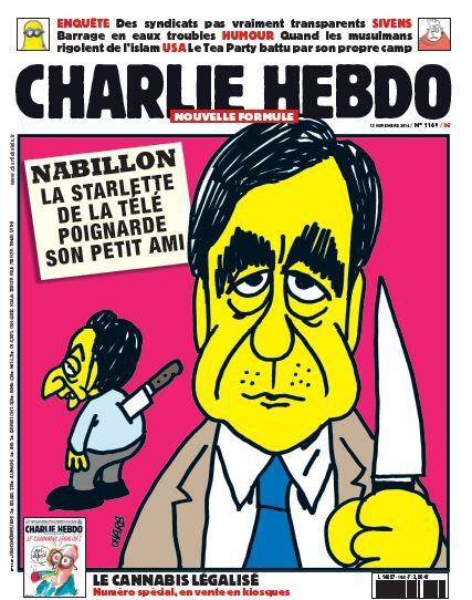 Charlie Hebdo n°1169 --- 12 novembre  2014