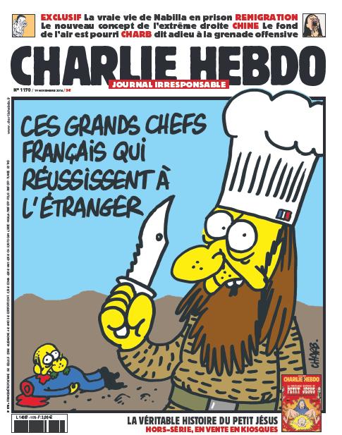 Charlie Hebdo n°1170 ---  19 novembre 2014