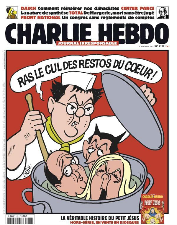 Charlie Hebdo n°1171 --- 24 novembre 2014