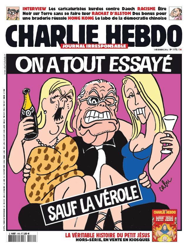 Charlie Hebdo n°1172 - 3 décembre 2014