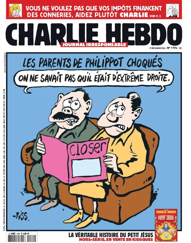 Charlie Hebdo n°1174 - 17 décembre 2014