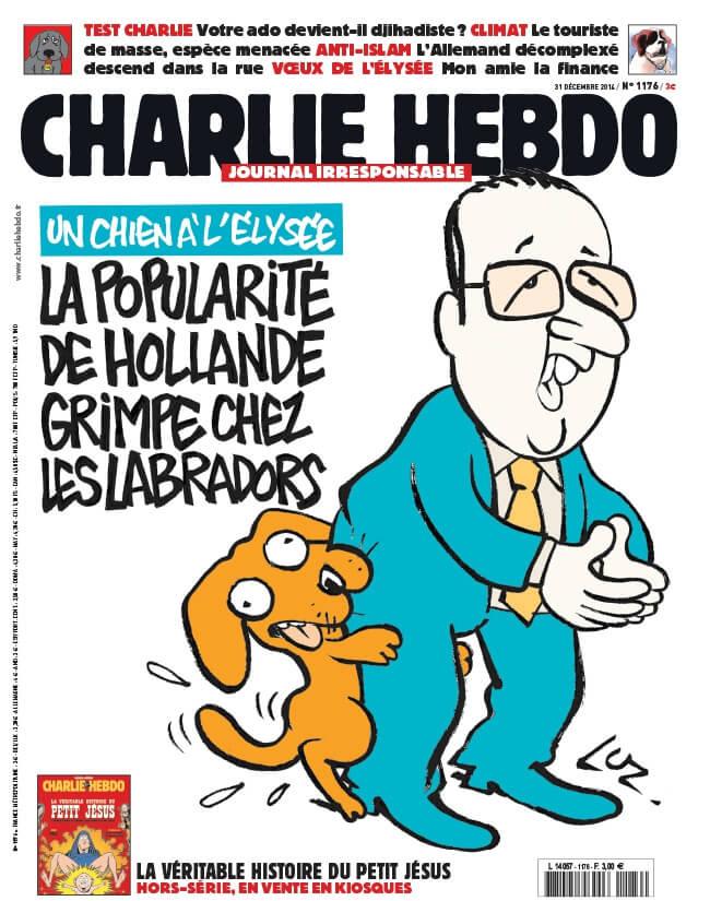 Charlie Hebdo n°1176 --- 1er janvier 2015