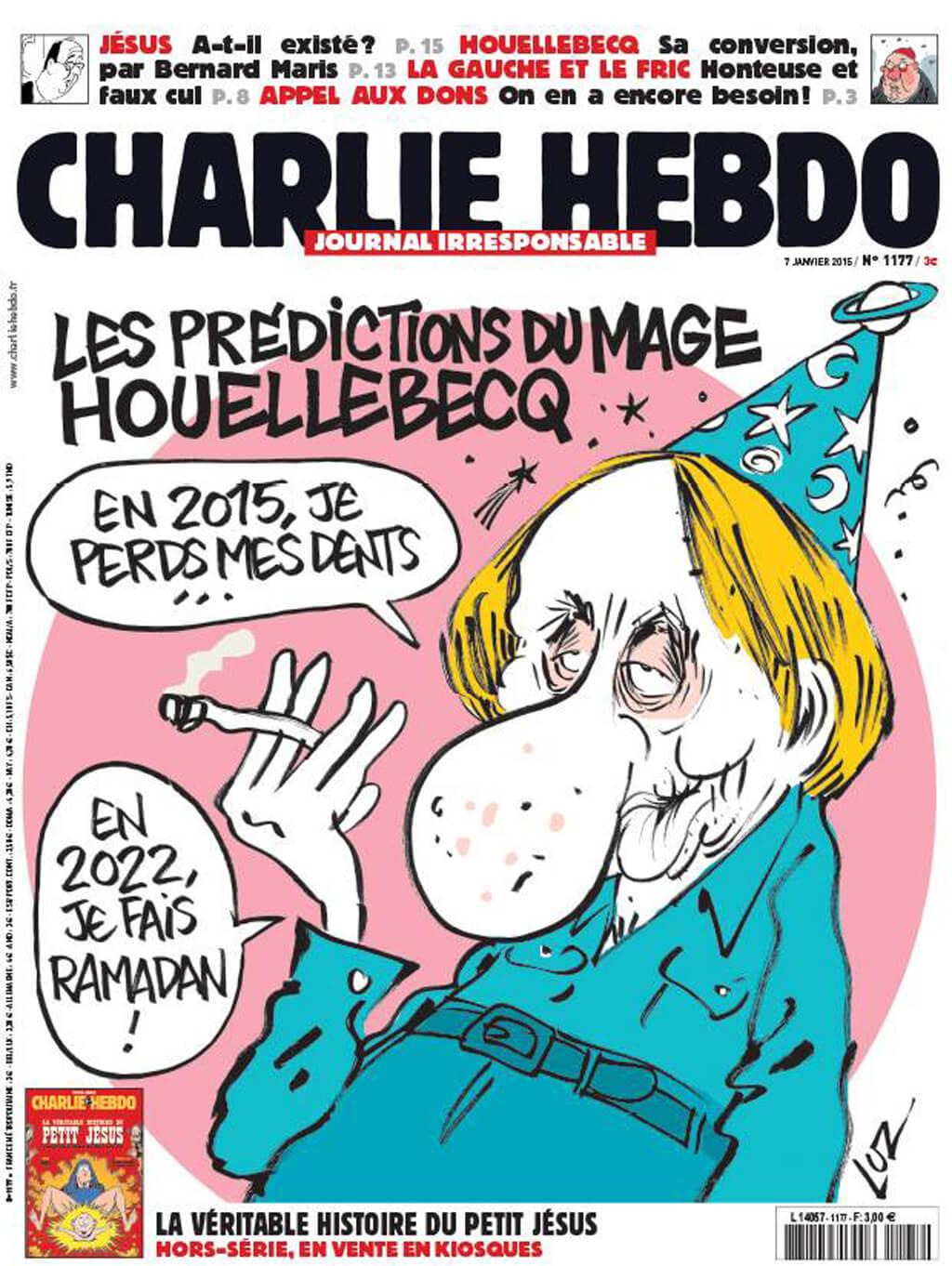 Charlie Hebdo n°1177 --- 7 janvier 2015