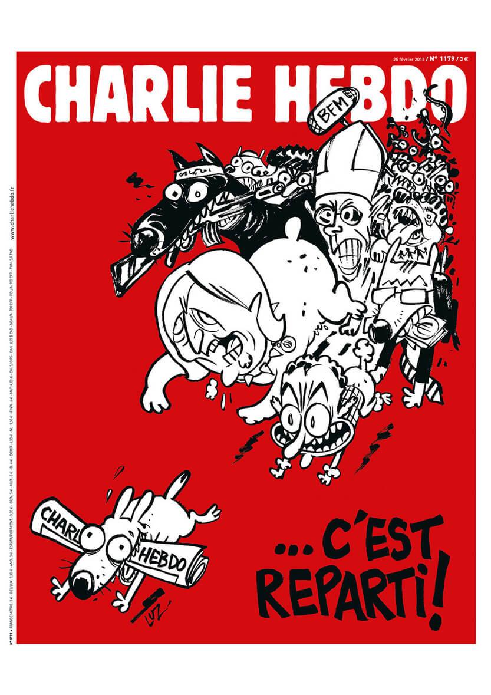 Charlie Hebdo n°1179 --- 25 février 2015