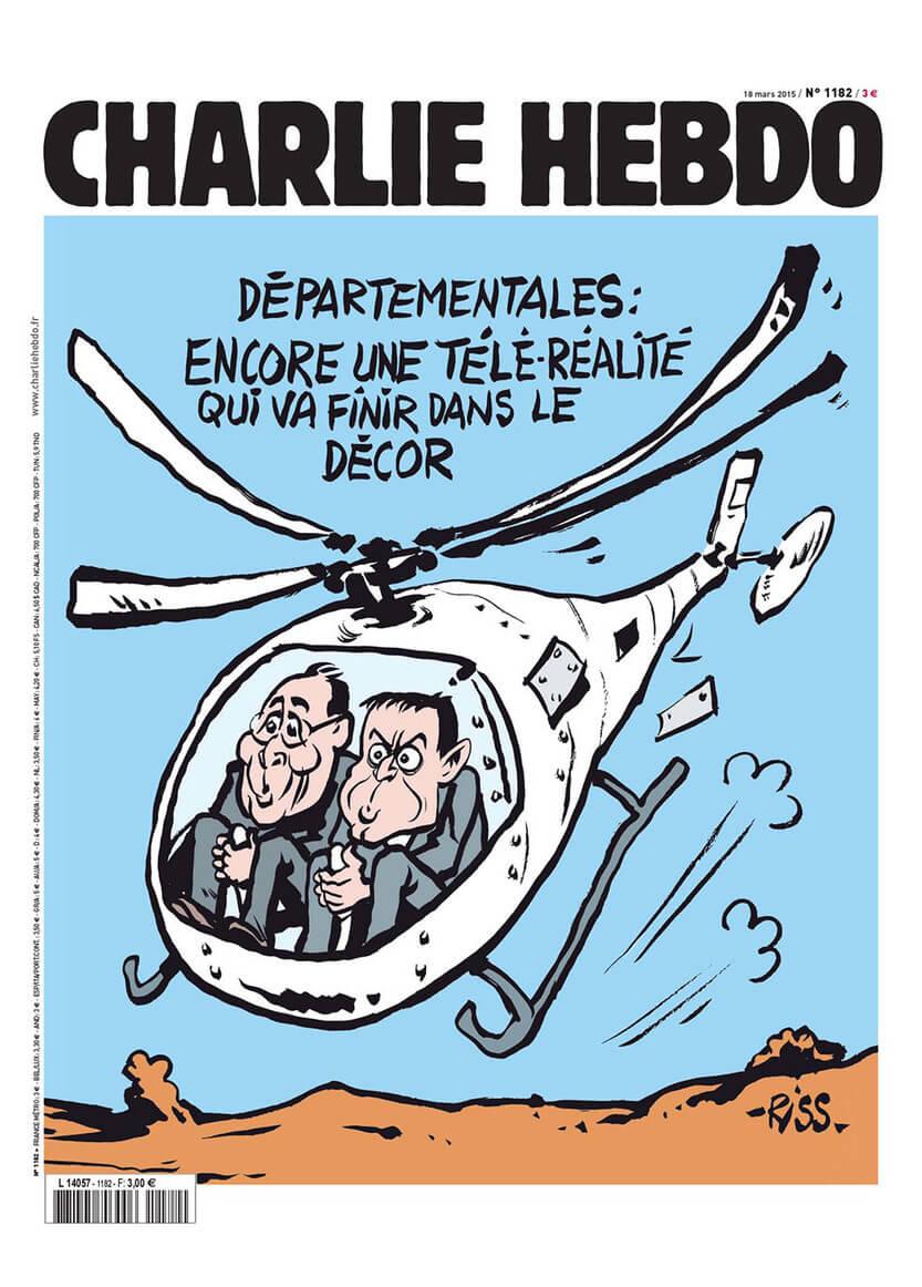Charlie Hebdo n°1182 --- 18 mars 2015