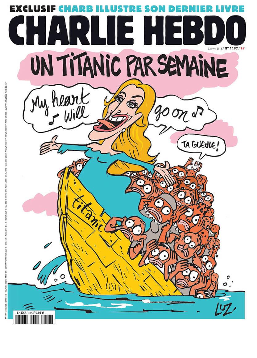 Charlie Hebdo n°1187 --- 22 avril 2015