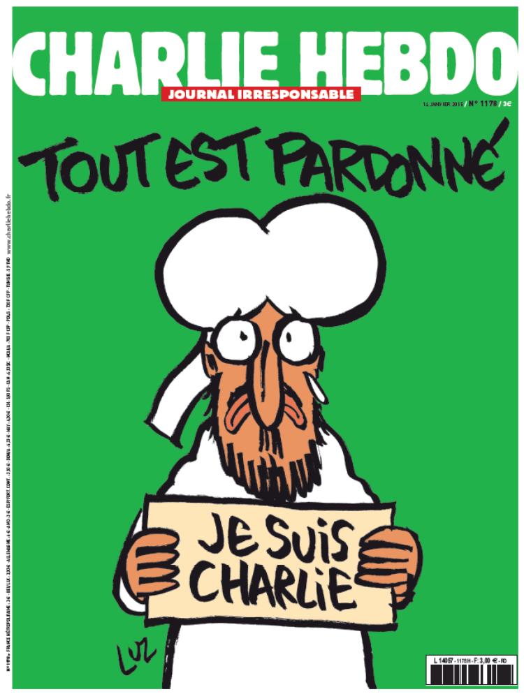Charlie Hebdo n°1178 --- Numéro des survivants --- 14 janvier 2015