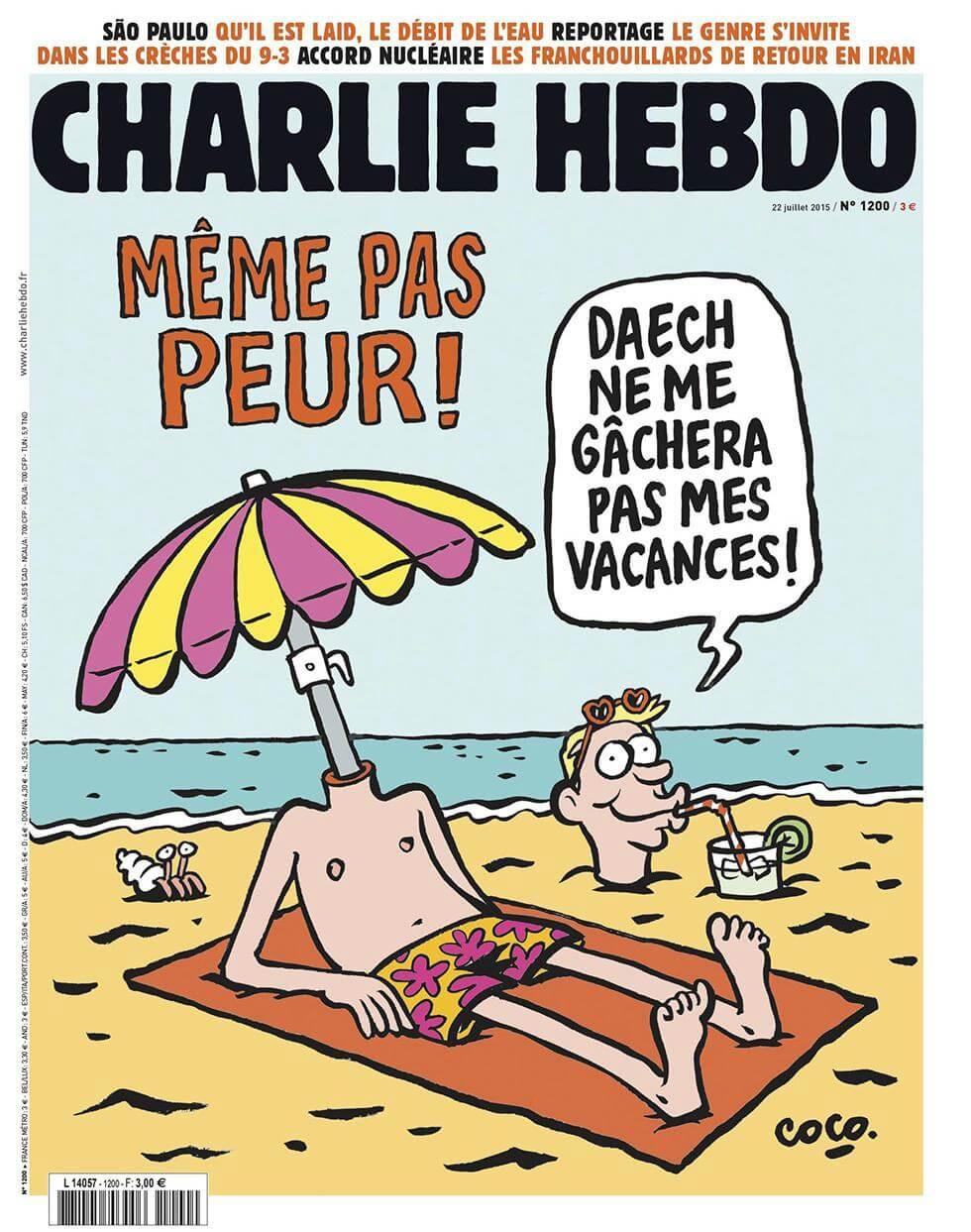 Charlie Hebdo n°1200 --- 22 juillet 2015