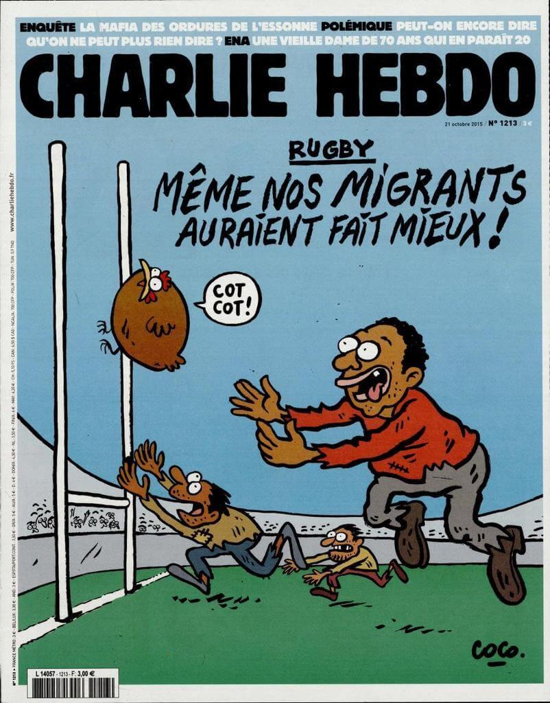 Charlie Hebdo n°1213 --- 21 octobre 2015