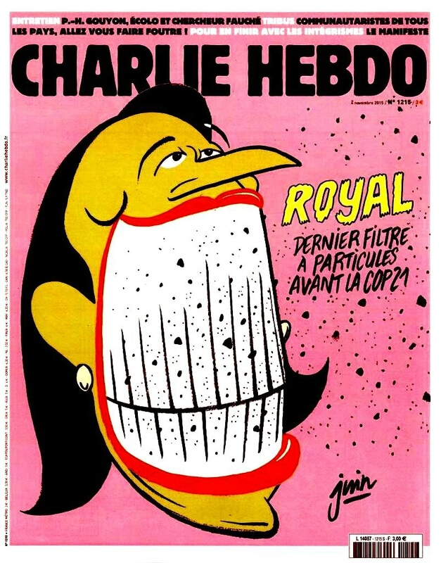 Charlie Hebdo n°1215 --- 04 novembre 2015