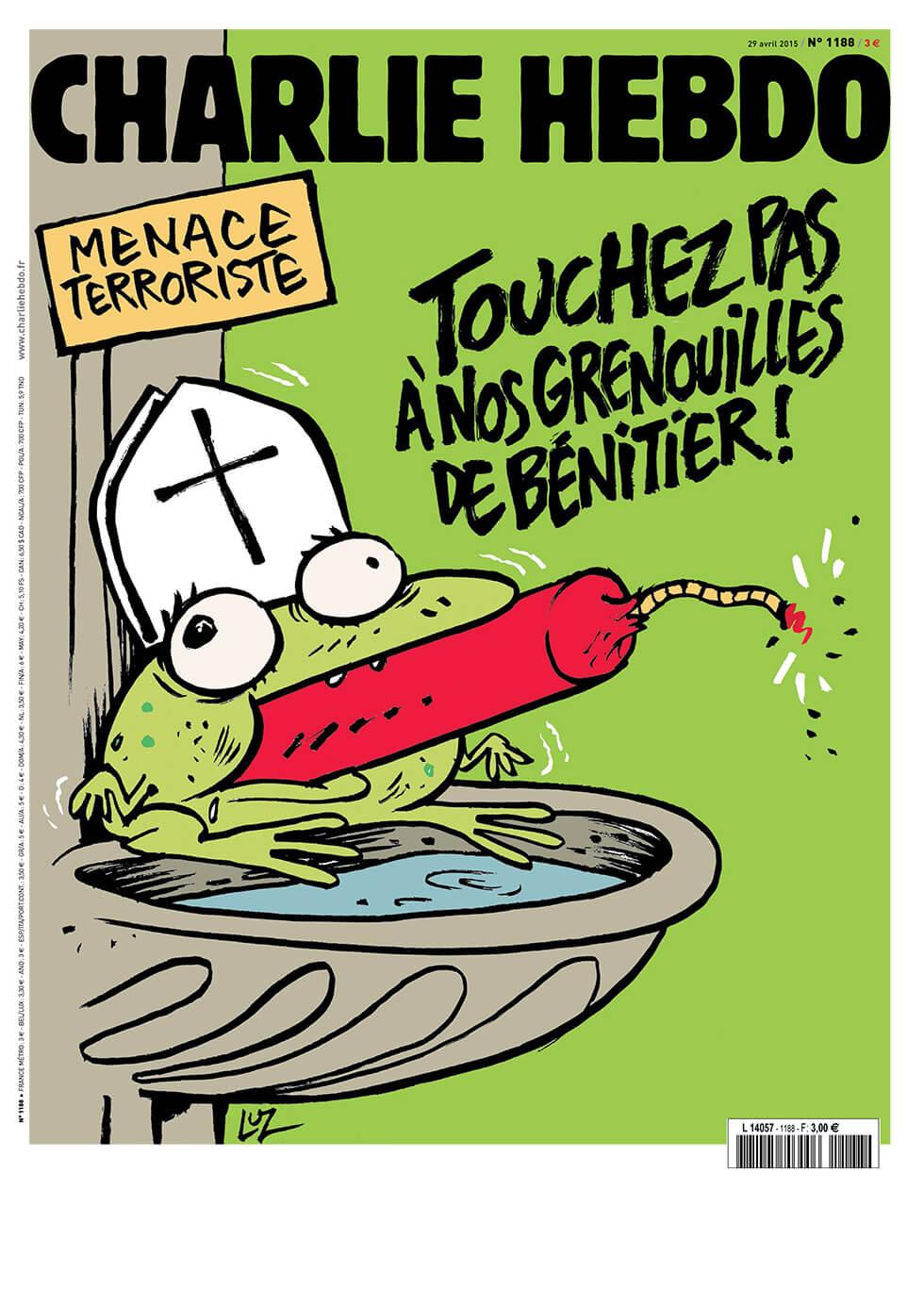 Charlie Hebdo n°1188 --- 29 avril 2015
