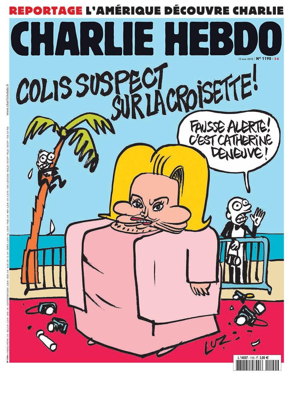 Charlie Hebdo n°1190 --- 13 mai 2015