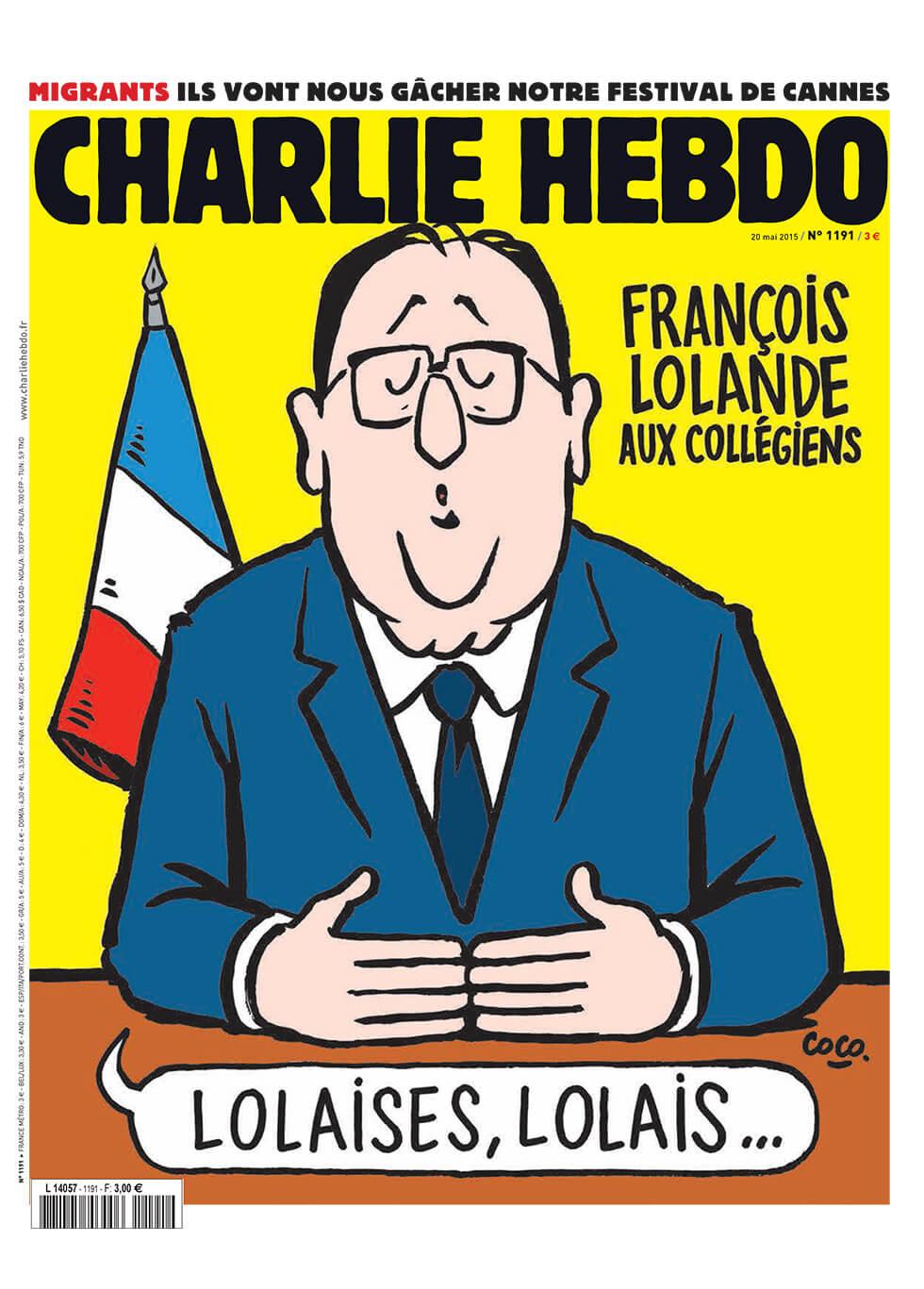 Charlie Hebdo n°1191 --- 19 mai 2015