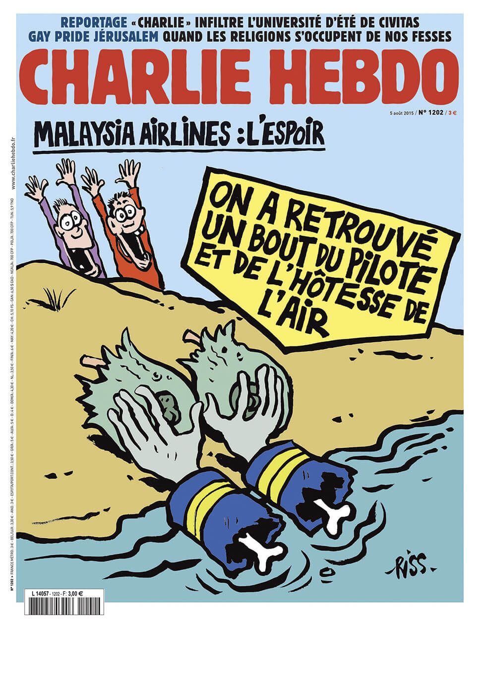 Charlie Hebdo n°1202 --- 5 août 2015