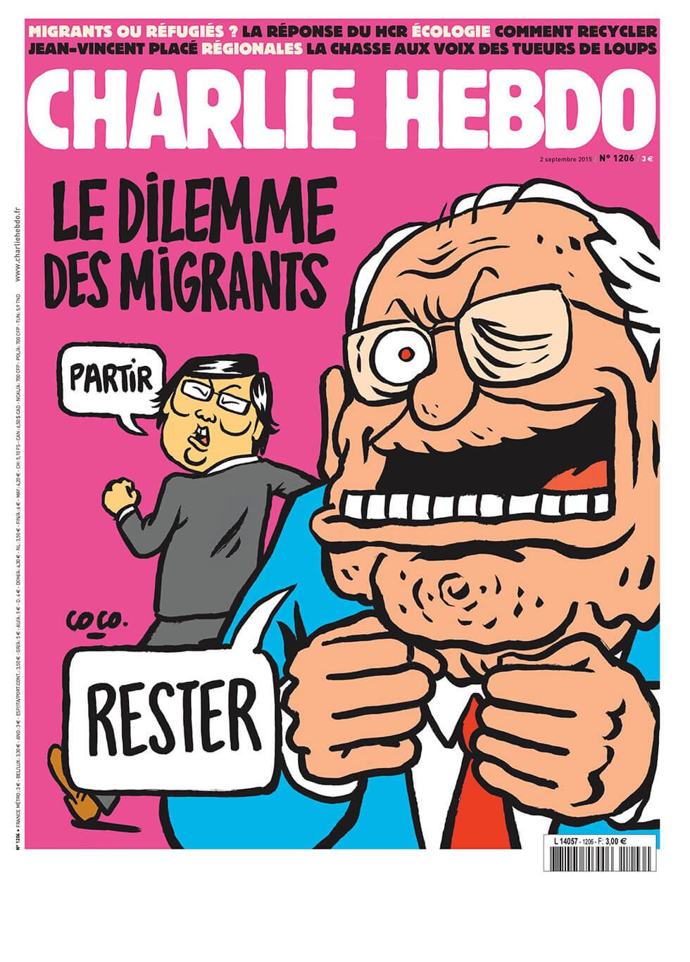 Charlie Hebdo n°1206 --- 2 septembre 2015