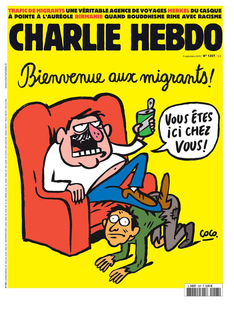 Charlie Hebdo n°1207 --- 9 septembre 2015