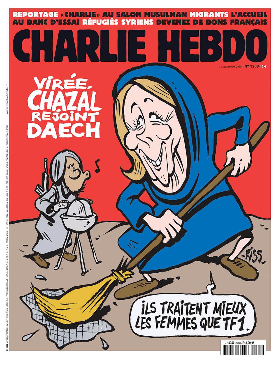 Charlie Hebdo n°1208 --- 16 septembre 2015