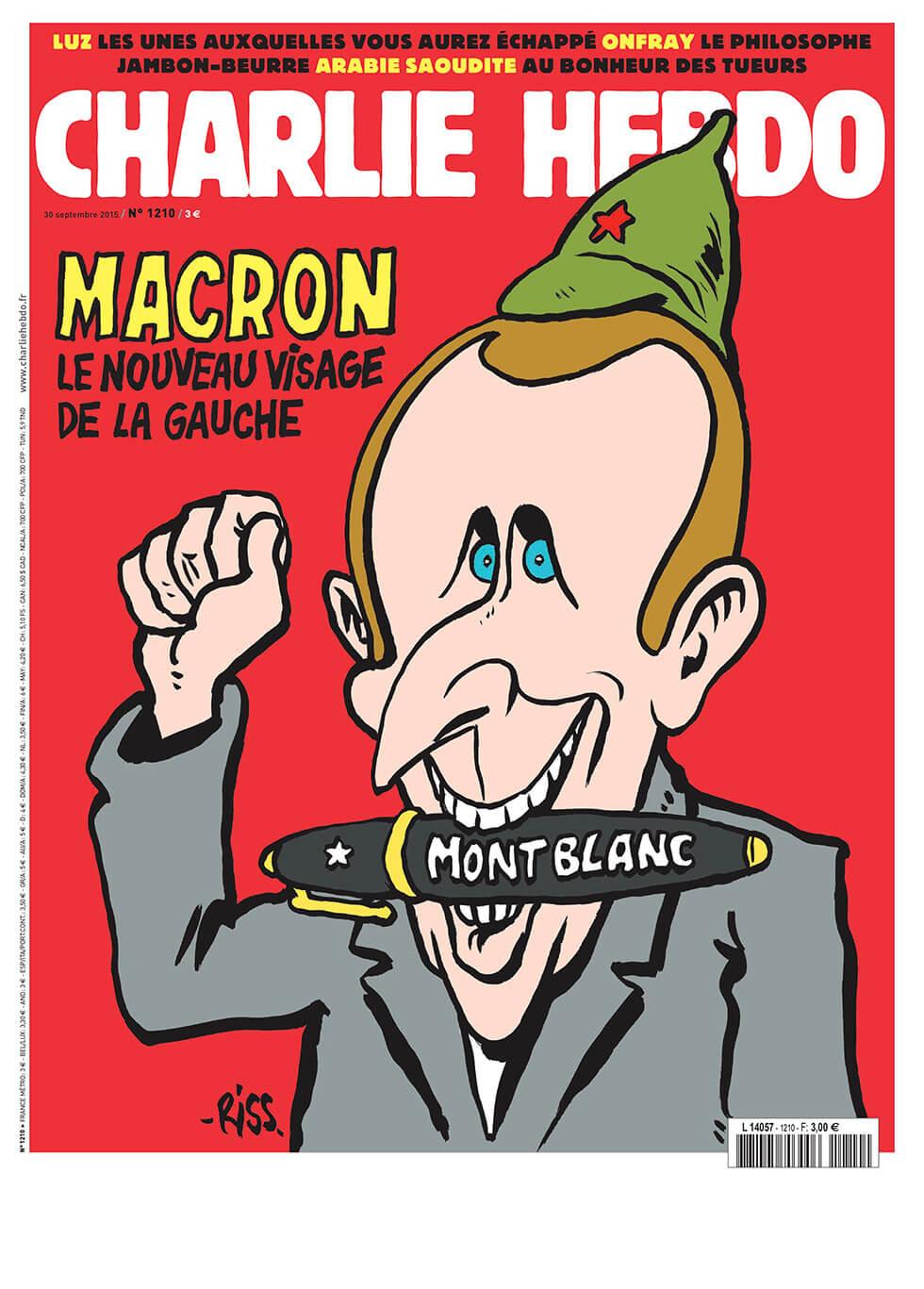Charlie Hebdo n°1210 --- 30 septembre 2015