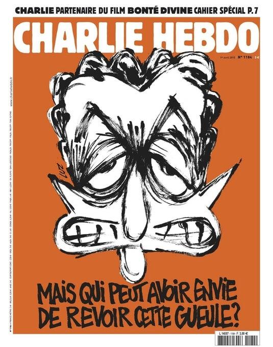 Charlie Hebdo n°1184 --- 1 avril 2015