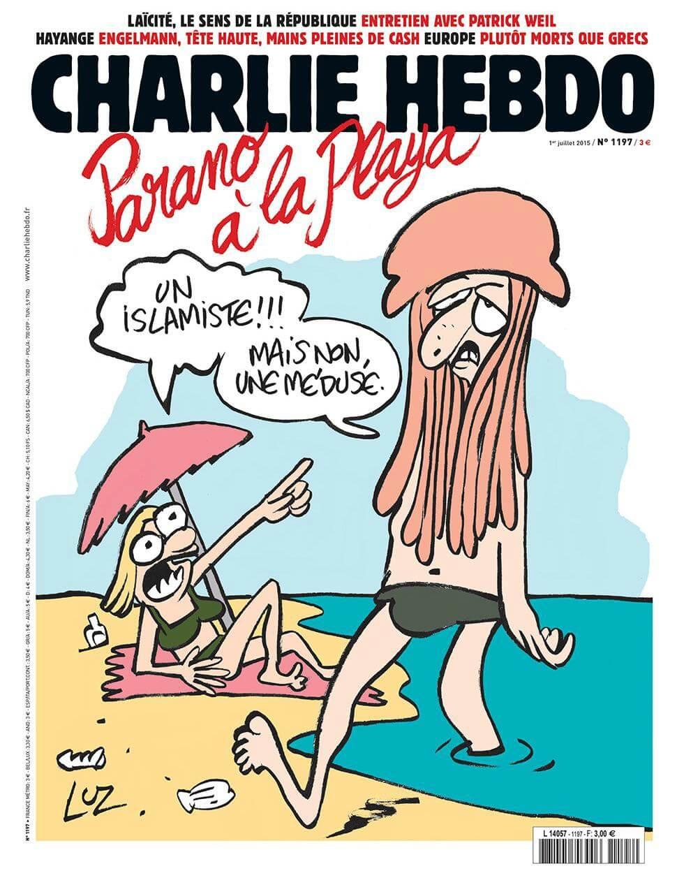 Charlie Hebdo - n°1197 - 1 juillet 2015