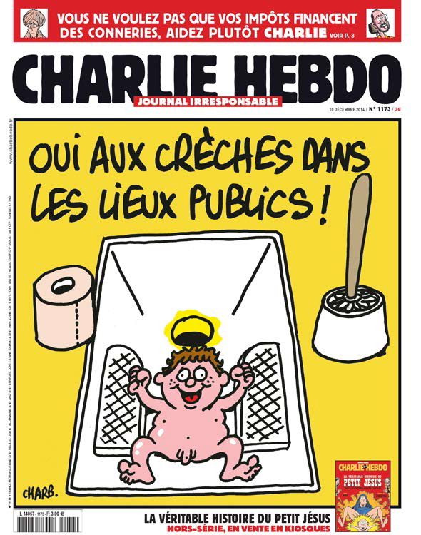 Charlie Hebdo n°1173 - 10 décembre 2014