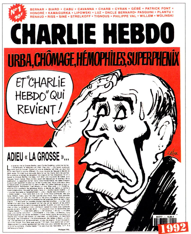 Charlie Hebdo n°0001 --- 1992