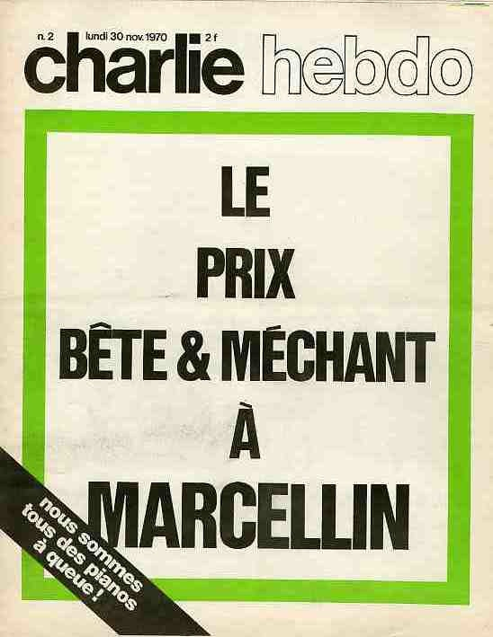 Charlie Hebdo  n°000002 --- 30 novembre 1970