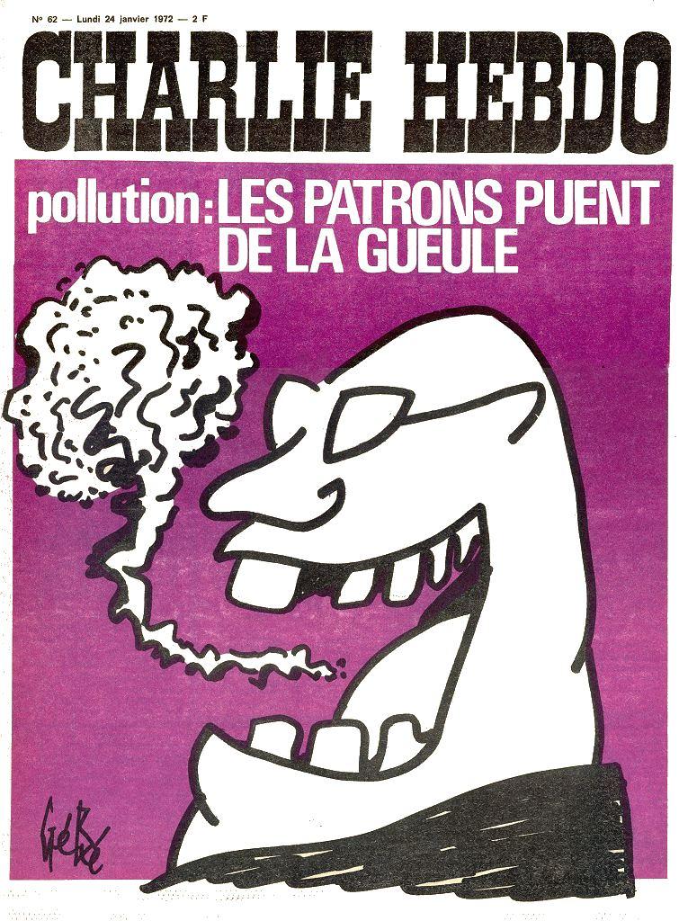 Charlie Hebdo n°000062 --- 24 janvier 1972