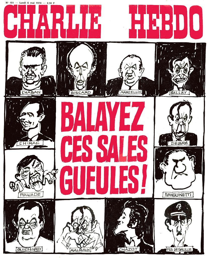 Charlie Hebdo - n°0181 - 6 mai 1974