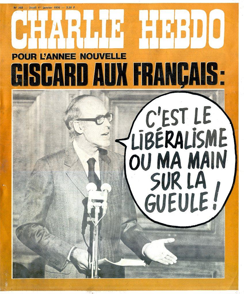 Charlie Hebdo - n°0268 - 1 janvier 1976