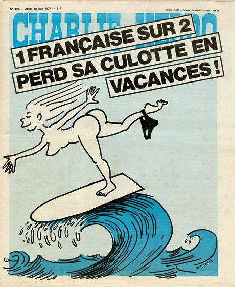 Charlie Hebdo - n°0344 - 30 juin 1977
