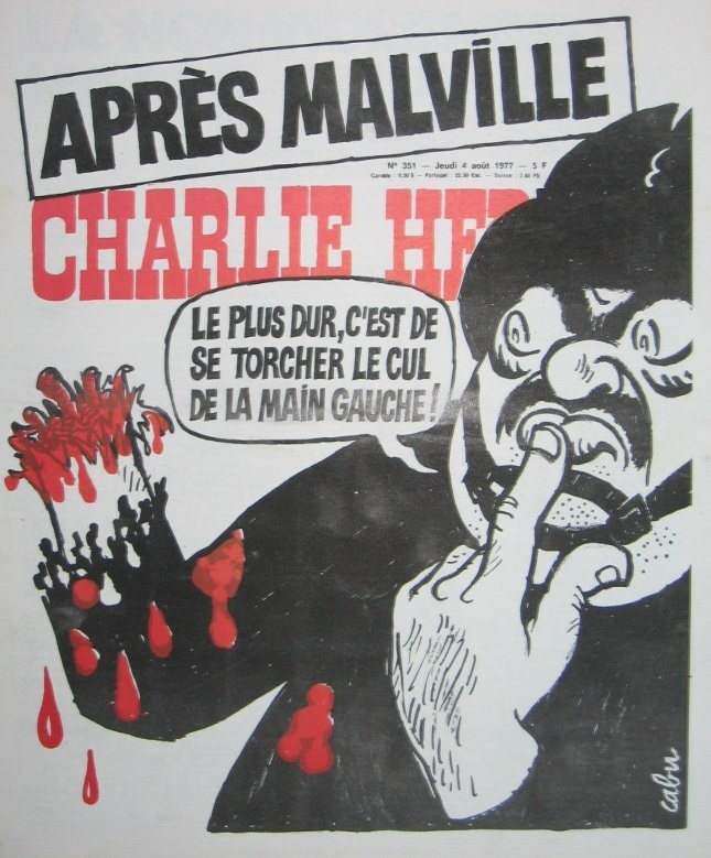 Charlie Hebdo - n°0351 - 4 aout 1977