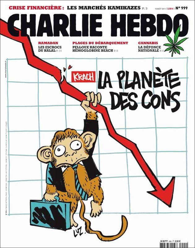 Charlie Hebdo - n°0999 - 10 août 2011