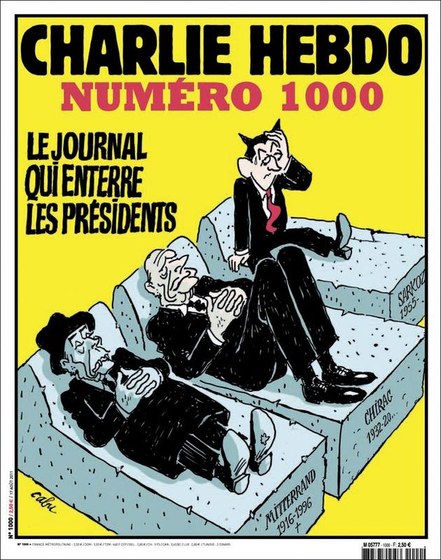 Charlie Hebdo - n°1000 - 17 août 2011