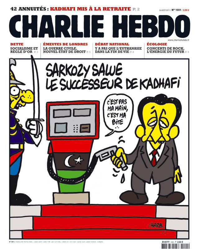 Charlie Hebdo - n°1001 - 24 août 2011