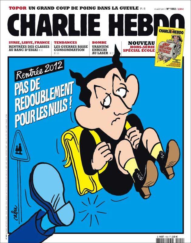 Charlie Hebdo - n°1002 - 31 août 2011
