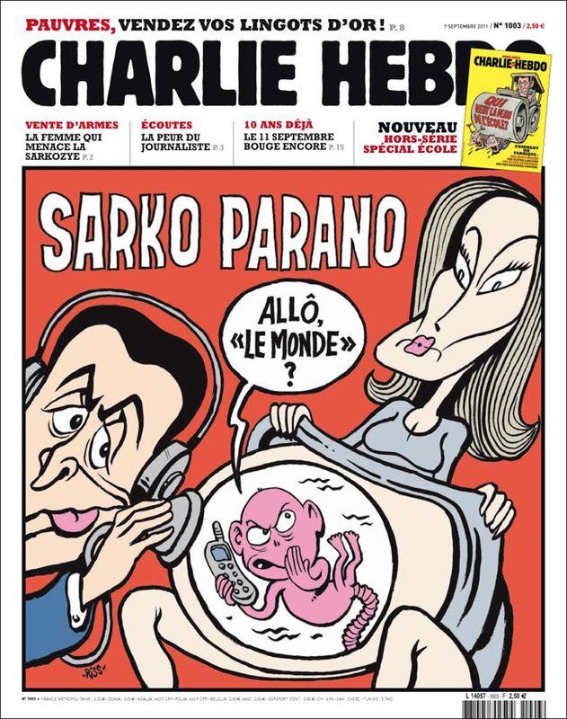 Charlie Hebdo - n°1003 - 7 septembre 2011