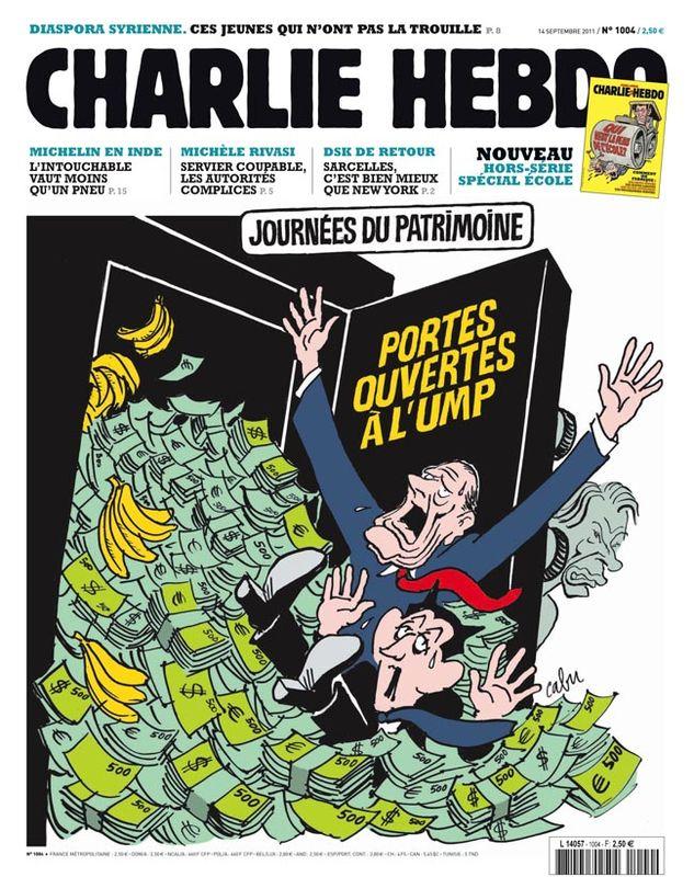 Charlie Hebdo - n°1004 - 14 septembre 2011