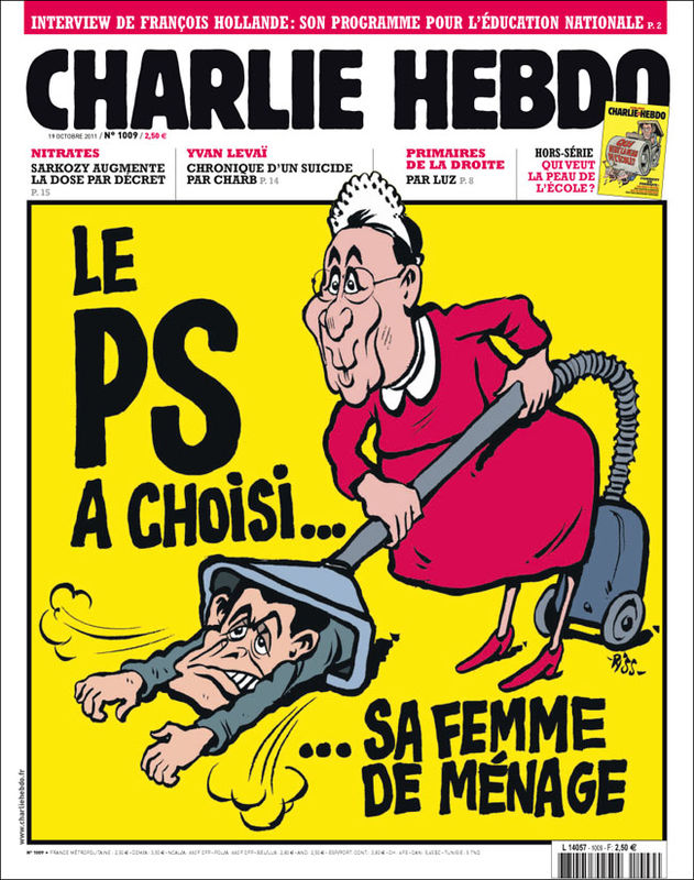 Charlie Hebdo - n°1009 - 19 octobre 2011