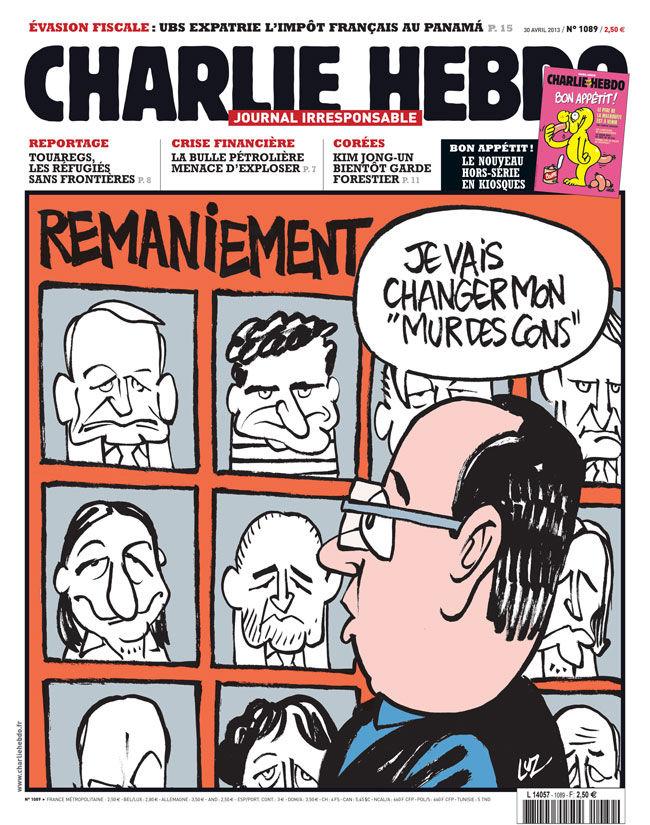 Charlie Hebdo - n°1089 - 30 avril 2013