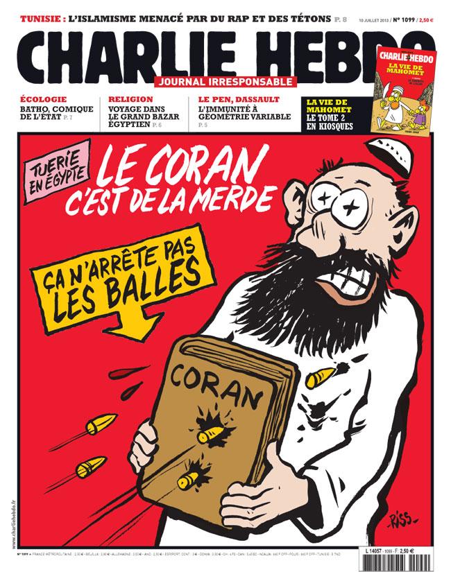 Charlie Hebdo - n°1099 - 10 juillet 2013