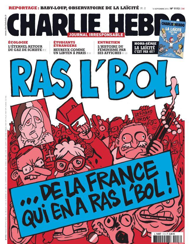 Charlie Hebdo - n°1113 - 16 septembre 2013