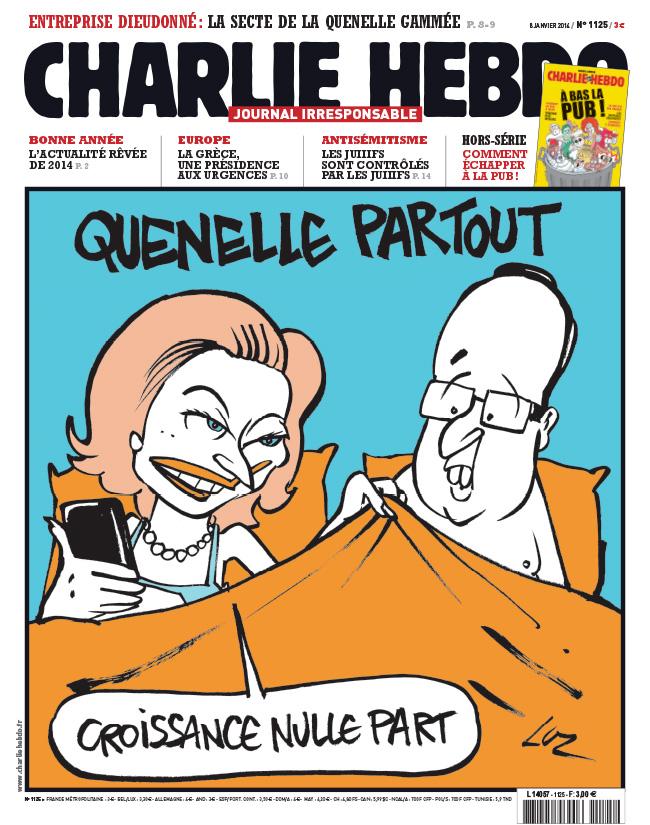 Charlie Hebdo - n°1125 - 8 janvier 2014