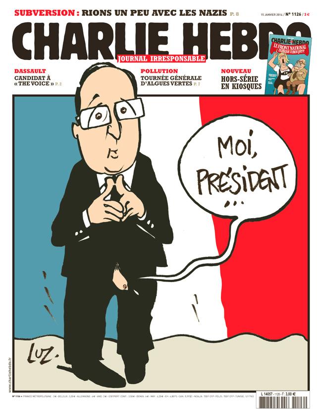 Charlie Hebdo - n°1126 - 15 janvier 2014