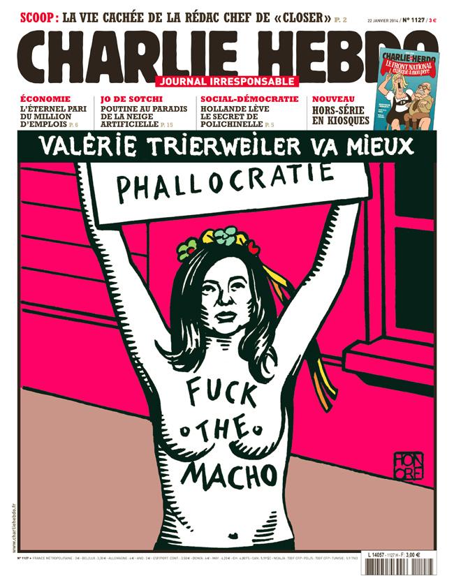Charlie Hebdo - n°1127 - 22 janvier 2014