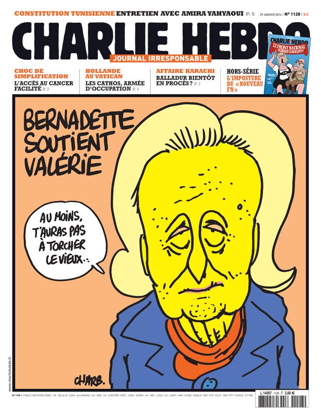 Charlie Hebdo - n°1128 - 29 janvier 2014
